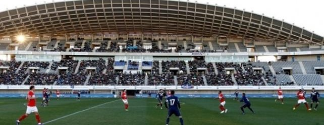 Renovación del césped del Estadio Ciudad de Málaga